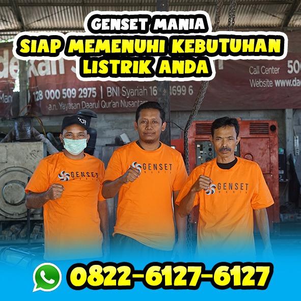 Sewa Genset Murah Area Yogyakarta
